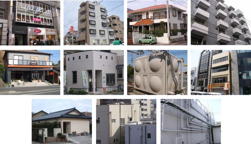 福岡で住宅を塗装するなら『塗職®福岡』塗装、防水専門 実績紹介